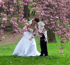 springtime wedding